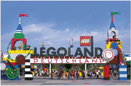 Legoland Nemecko - zábavný park
